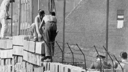 The construction of the Berlin Wall became a symbol of the division of the world..jpg